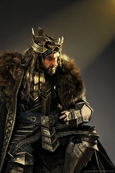 Richard Armitage as Thorin in The Hobbit: The Battle of the Five Armies.