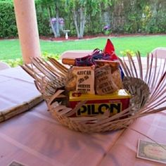 Decoration for a Cuban themed party!