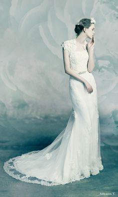 annasul y wedding dresses 2016 bridal lace wedding dress cap sleeve bolero jacket citrine ay3150b
