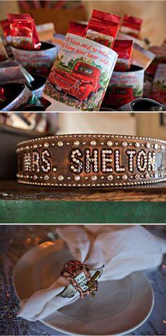 Miranda Lambert and Blake Shelton's Wedding