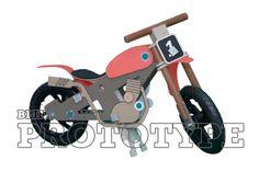 BLINKENBIKE Model WildDuck with Motorcross Accessories Teaching Kids, Kids Learning, Old Vintage Cars, Go Your Own Way, Balance Bike, Love Design, Tricycle, High Level, Custom Bikes
