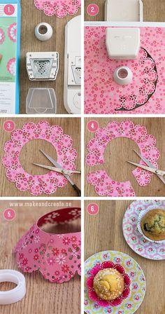Söta muffinsformar - Pyssel & pysseltips - Make & Create
