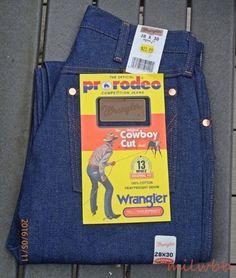 Wrangler Mens 13MWZ Cowboy Cut Denim Jeans See List NWT #Wrangler #ClassicStraightLeg