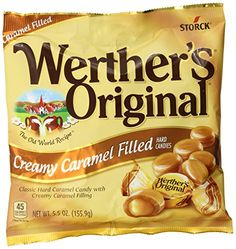 Werther's Original Creamy Caramel Filled Hard Candies, Bags (Pack of Creamy Caramel Filled Hard Candy Doubly delicious indulgence Dissolve slowly or have it crunchy Unique sweet buttery goodness Gluten Free Chocolate Rocks, Chocolate Babies, Melting Chocolate, Chocolate Recipes, Old Recipes, Candy Recipes, Gourmet Recipes, Snack Recipes, Bulk Candy