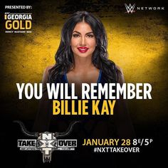 wwenxt Can @billiekaywwe leave #NXTTakeOver: San Antonio as your #NXTWomensChampion? She challenges @wwe_asuka in a #Fatal4Way TONIGHT on @wwenetwork!  2017/01/29 06:23:56