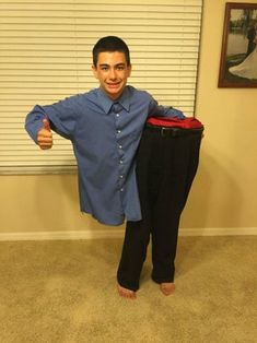 halloween costumes boys Man Cut in Half Costume: 8 Steps (with Pictures)