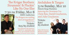 This Weekend! May 8 & 10, 2015 - Chamber Music Festival