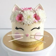 cat birthday party food / cat birthday party _ cat birthday party ideas _ cat birthday party for cats _ cat birthday party theme _ cat birthday party cake _ cat birthday party ideas for cats _ cat birthday party ideas decoration _ cat birthday party food Birthday Cake For Cat, Birthday Kitty, Birthday Cupcakes, Birthday Ideas, Birthday Parties, Cat Cake Topper, Cat Cookies, Animal Cakes, Girl Cakes
