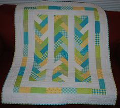 Baby Braid Gender-Neutral Baby Toddler or Lap by RedTailRoadQuilts