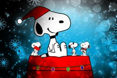 Merry Christmas *~<3~* Snoopy