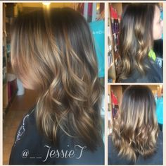 Brunettes need Balayage too, subtle and seamless for summer