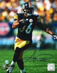 Autographed Hines Ward Pittsburgh Steelers 8x10 Photo