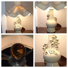 Vintage lamp 1940's early 50's soo pretty!