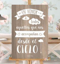 "Poster ""Those who are not"" - Decoracion bodas - Boda Wedding Signs, Our Wedding, Dream Wedding, Cancun Wedding, Party Planning, Wedding Planning, Wedding Planer, Ideas Para Fiestas, Just In Case"