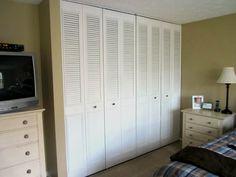 shutter doors for wardrobe