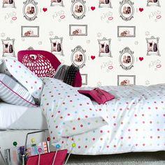 Papiers peints ados e papier peint papier peint pour chambre ado maison - Accessoire chambre ado ...