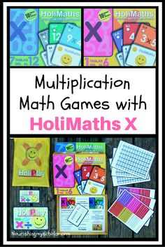 Multiplication Math Games with HoliMaths X: Come see the fun you can have with…