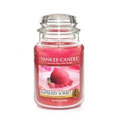 Raspberry Sorbet : Large Jar Candle : Yankee Candle