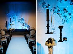 Modern Glam Wedding Inspired by Tron