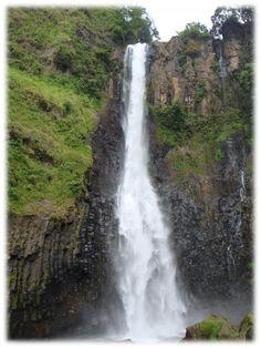 Takapala Malino Falls, Malino City south of Makasar, South Sulawesi - Indonesia