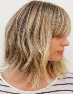 Your layers will depend on your face shape, hair texture and type of maintenance that you want. Check out our favorite mid-length layered haircuts.