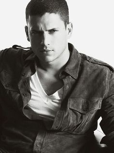 Wentworth Miller...one fine man!! Half the reason I'm addicted to Prison Break!
