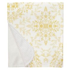 Our soft and lightweight crib blanket is just the thing to wrap your baby up, snug as a bug in a rug. At x it's the perfect size for the newest addition to the family. Yellow Nursery, Carousel Designs, Crib Blanket, Damask, Cribs, Tapestry, Mini, Floral, Snug