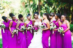 Luxurious Outdoor Nigerian Wedding in California - Munaluchi Bridal Magazine-they look gorgeous