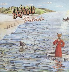 For Sale - Genesis Foxtrot - 2nd USA  vinyl LP album (LP record) - See this and 250,000 other rare & vintage vinyl records, singles, LPs & CDs at http://eil.com