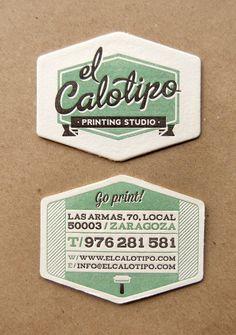 El Calotipo Printing Studio by El Calotipo , via Behance