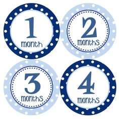 Baby Month Stickers Baby Boy Monthly Onesie by getthepartystarted, $12.00