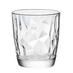 diamond glasses by Bormioli Rocco
