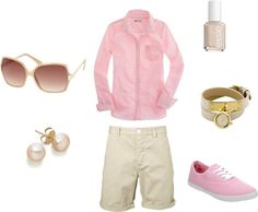 """""""Pretty in Pink"""" by kimberly-watts on Polyvore"""