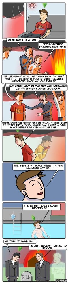 Sims Safety The biggest pet peeve in my LIFE!!! Or sims life I guess. Lol