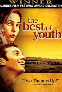 One of my favorite films. A three hour Italian epic that follows the lives of two brothers, from the 1960s to the 2000s.