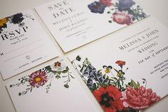 Botanical Printable Wedding Invitations by ThreeEggsDesign on Etsy, $35.00