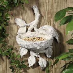 Lovely bird feeder.