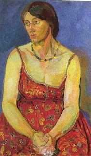 Vanessa Bell, by Duncan Grant.