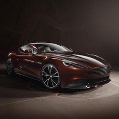 Cool brown Aston Martin!