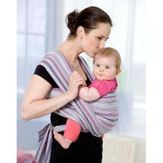 AZ 5060451 - Fascia portabebe - rigida - Amazonas Baby - modello Carry Sling Mystic - confortevole e comoda