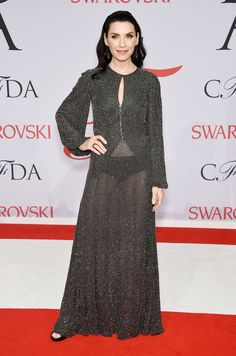 Julianna Margulies at the 2015 CFDA Awards