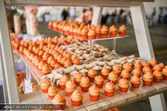 mini cupcakes orange