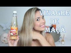 Para cabelo elástico, hidratação com Vinagre de maçã | SE INSCREVA NO CANAL - YouTube