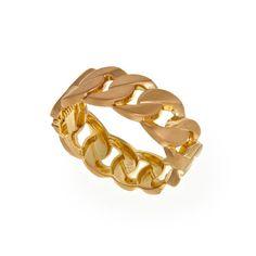 eu.Fab.com   Charlie Bracelet Gold Toned