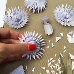 Papírové vánoční ozdoby a dekorace - 1. část