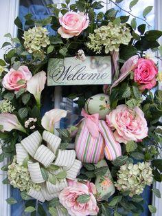 Easter Door Wreath