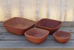 Square Nesting bowls