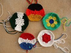 crochet hexagons crochet soccer ball world cup 2014, crochetbug, crochet ball