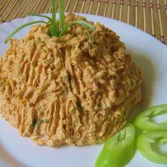 Csípős tojásos körözött Recept képpel -   Mindmegette.hu - Receptek Starters, Entrees, Cabbage, Food And Drink, Vegetables, Recipes, Apps, Fimo, Recipe