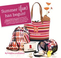 Summer Fun, has begun! New products April 1st!
